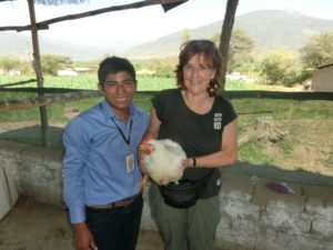 Claudia und Juan im Jahr 2015 in Peru.
