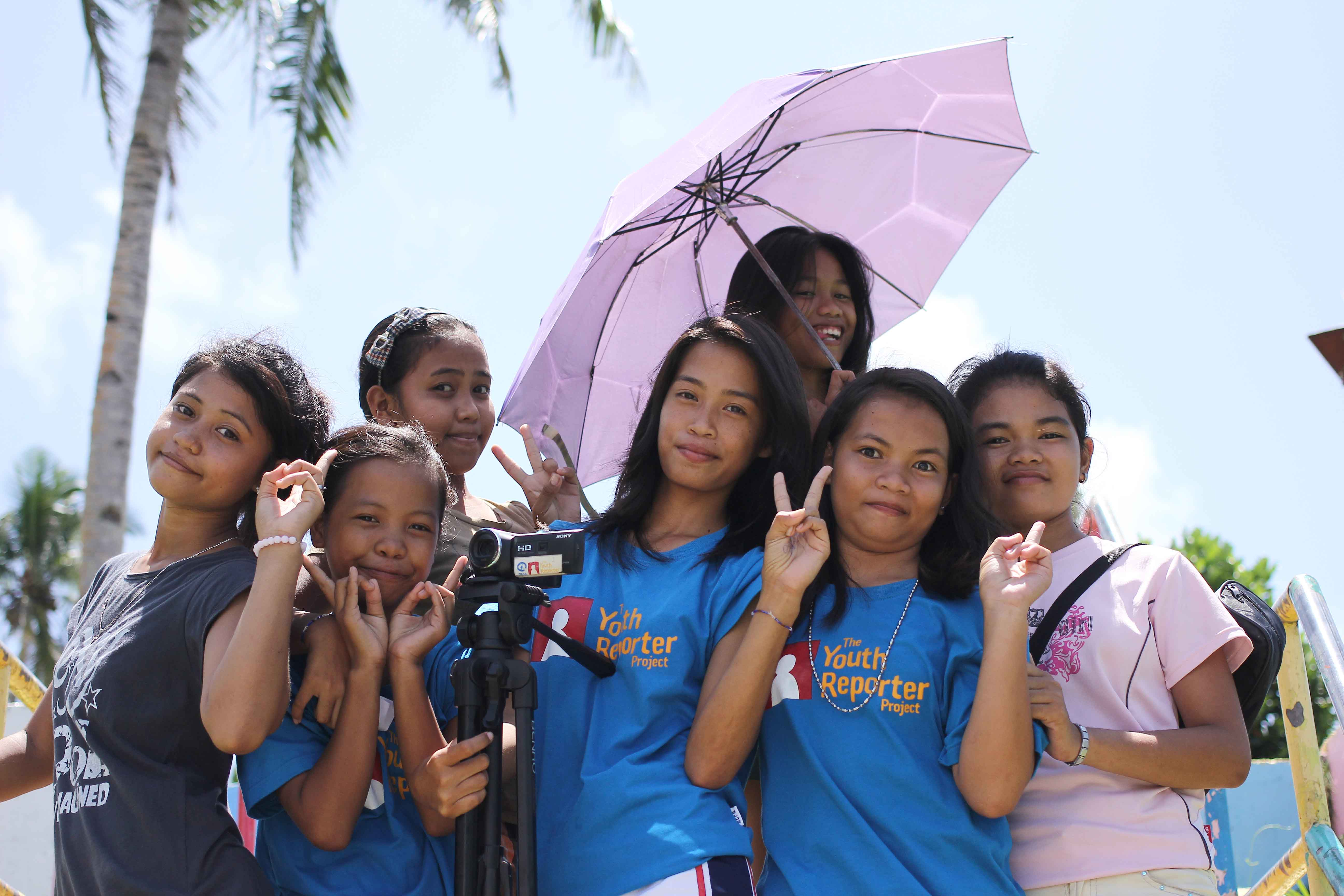 From June 6 to 7, Plan International's Youth Reporter team in Hernani, Eastern Samar participated in a disaster risk reduction and planning workshop. The activity aimed to help the young reporters identify the needs in their community and give them ideas for new reports they can make which will be shown to the community leaders at a public screening. During the activity, the reporters made their own seasonal calendar and hazard map, and made plans on how to build on what they have learned during the one-year Youth Reporter project which is a community-based, participatory youth media project under the Typhoon Haiyan Emergency Response Programme. It forms part of Plan's child-focused disaster response initiated to involve children and youth in the recovery process of their own communities.